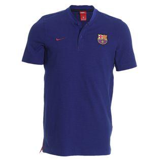 Camisa Polo Nike Barcelona 2017/2018 NSW Modern