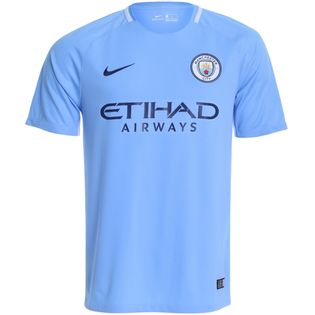 Camisa Nike Manchester City I Torcedor 2017/2018