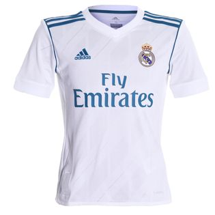 Camisa Adidas Real Madrid 2017/2018 Infantil