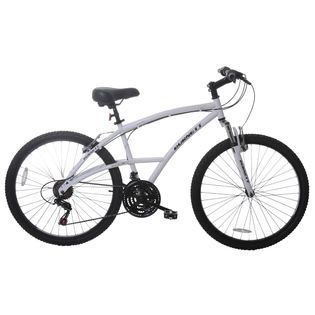 Bicicleta Burnett Comfort Aro 26 Susp. Dianteira 21 Marchas - Branco