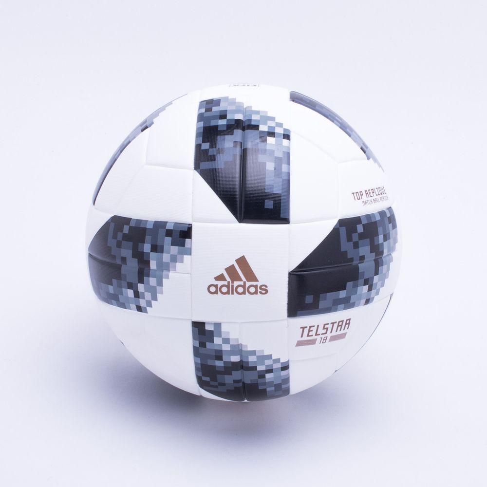 ea8e8d11744cb Bola Futebol Campo Adidas Copa do Mundo Rússia 2018 Branco ...