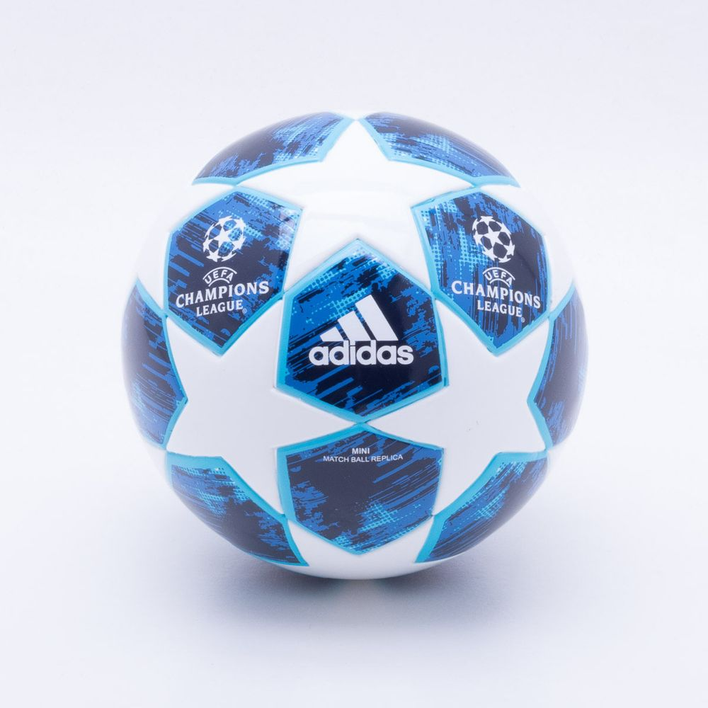24cb026ea82b5 Mini Bola Adidas UCL Finale 18 Azul e Branco - Esposende - Esposende