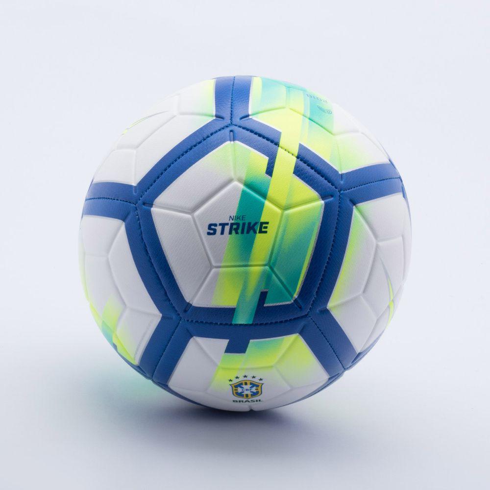 353a94a0c Bola Futebol Campo Nike CBF Strike Branco e Azul - Esposende - Esposende