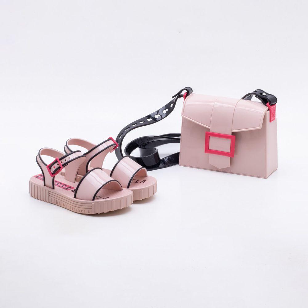 e50b33019f Sandália Grendene Infantil Larissa Manoela Fashion Bag Rosa. REF   354892-2001054523. Previous