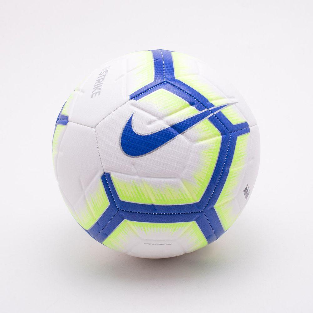 d85bd4013 Bola Futebol Campo Nike Brasil Strike Branco e Azul - Esposende ...