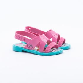 f86b09be5 Sandália Grendene Kids Infantil Lol Mix Rosa. R$ 44,99