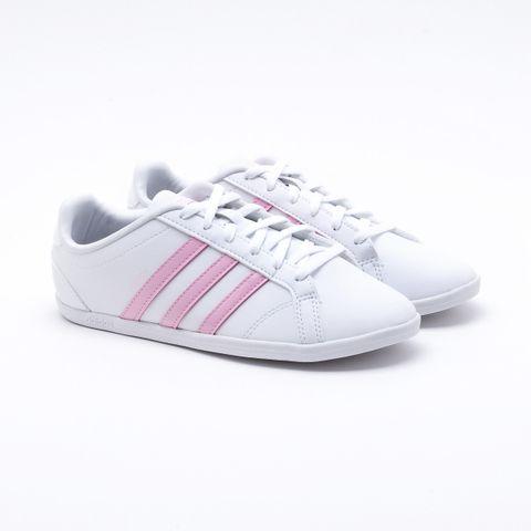 0bd3d0a3c Tênis Adidas VS Coneo QT Branco Feminino Branco e Rosa - Esposende -  Esposende