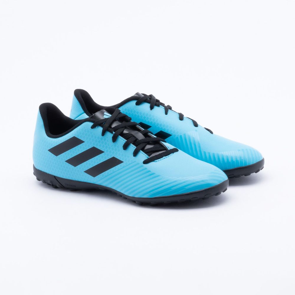 3bab0fefcd Chuteira Society Adidas Artilheira III TF Azul Azul e Pretp ...