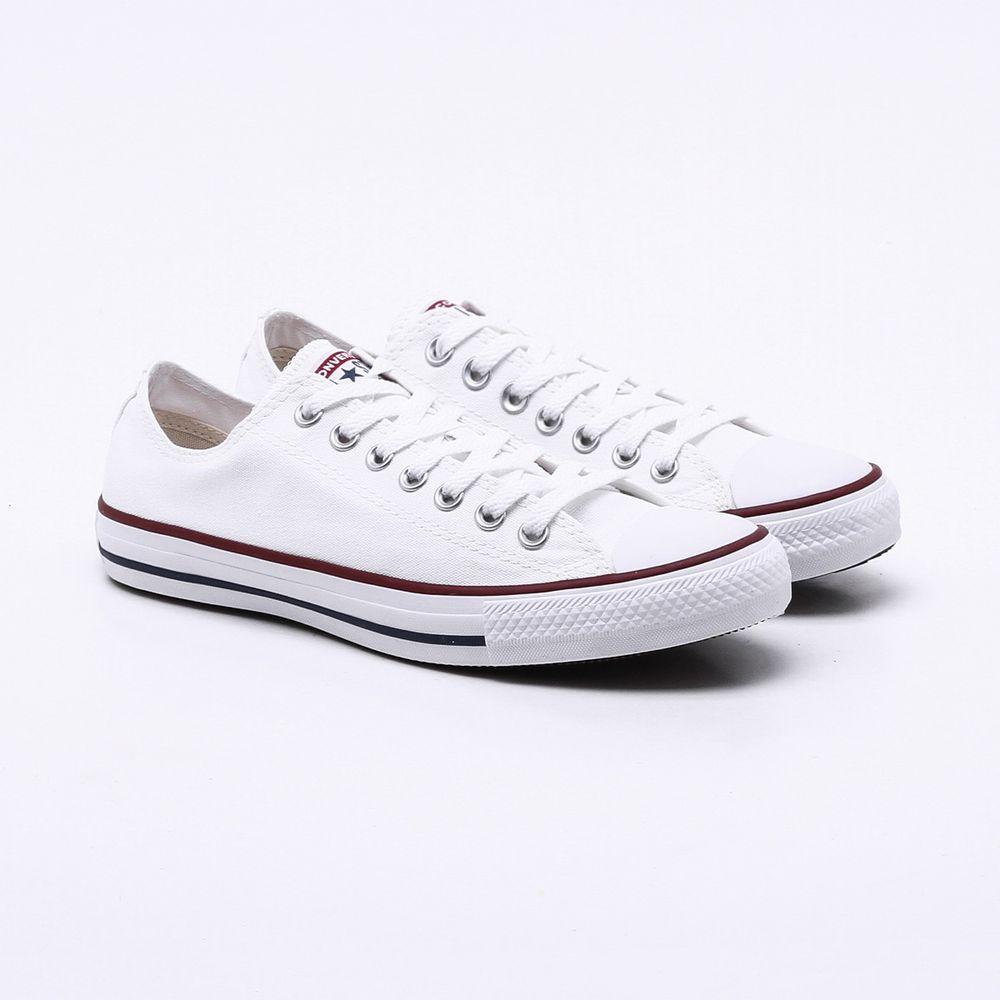 Tênis All Star Converse Branco Branco Esposende Esposende