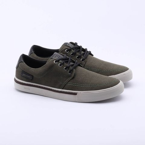 Sapatênis West Coast Philip Canvas Verde Masculino