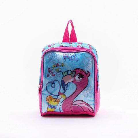 Lancheira Clio Style Flamingo Azul - Único