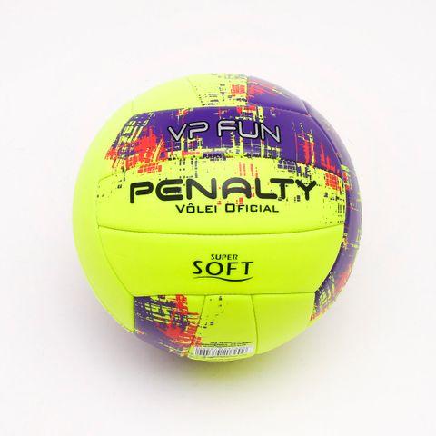 Bola Vôlei Penalty VP Fun Neon Amarela - Único